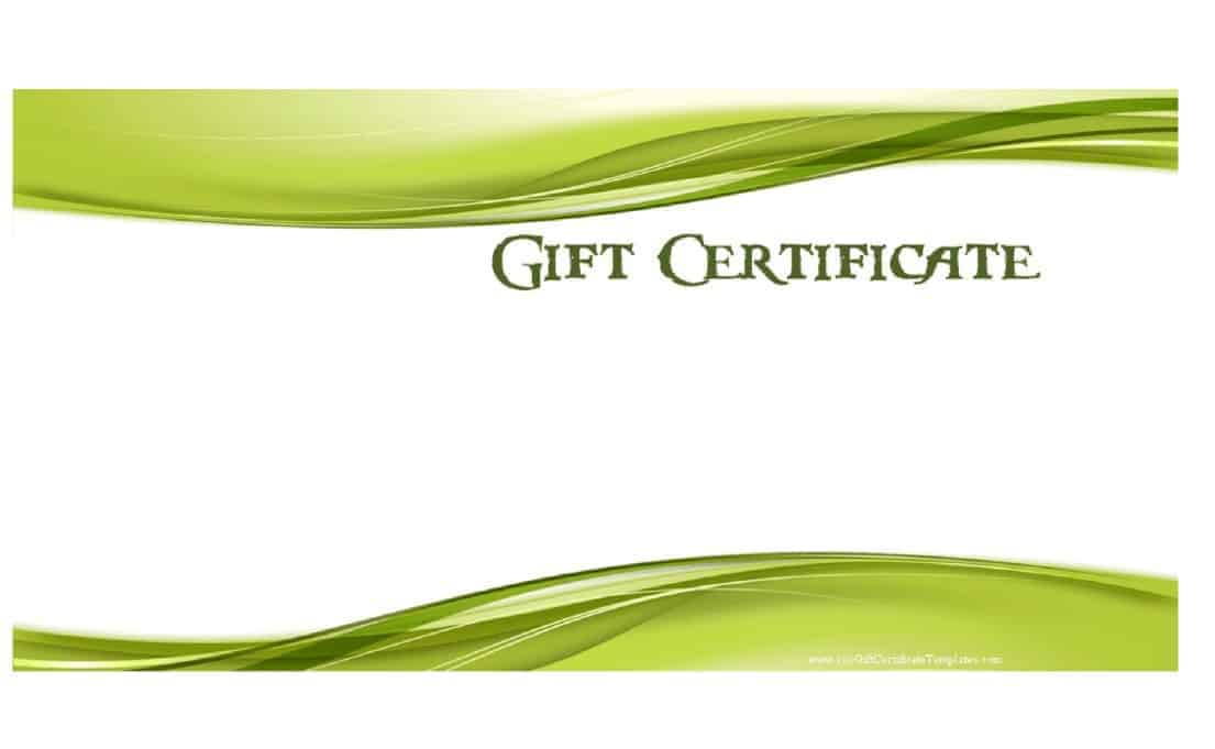 Gift Certificate Example on ThrivingLocally 01