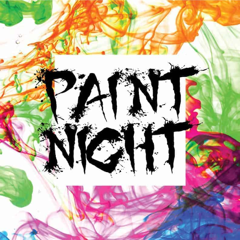 Sample Paint Night Listing