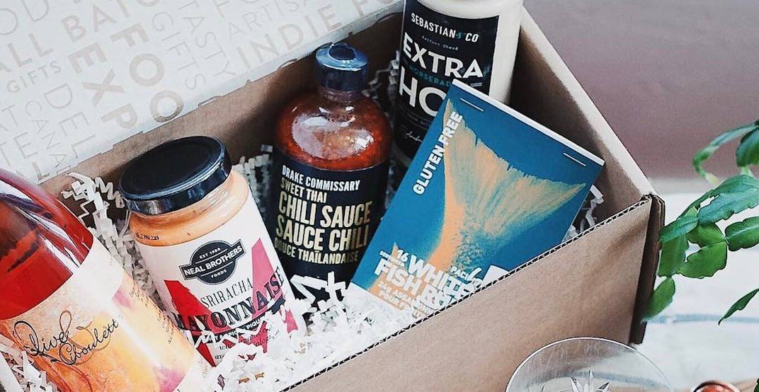 Subscription box from @foodiepages/Instagram